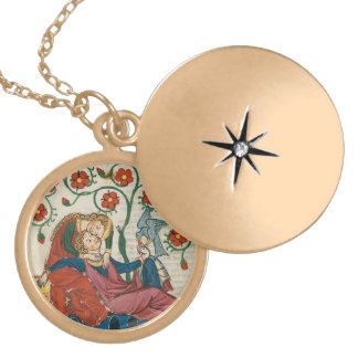 Courtly Love Locket Necklace