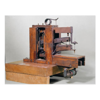 Couseuse', the first sewing machine, 1830 postcard