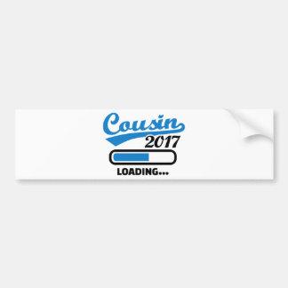 Cousin 2017 bumper sticker