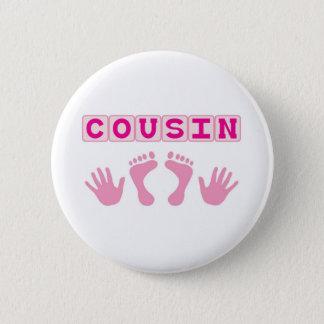 Cousin 2 Inch Round Button