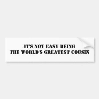 Cousin Bumper Sticker