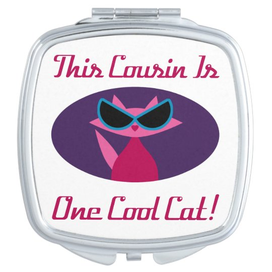 Cousin Cool Cat Makeup Mirrors