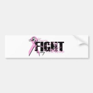 Cousin Hero - Fight Breast Cancer Car Bumper Sticker