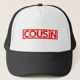 Cousin Stamp Trucker Hat