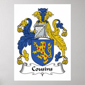 Cousins Family Crest Print