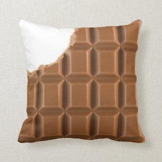 Coussin absent de barre de chocolat de morsure