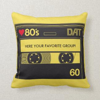 Coussin Cassette I 1980s music love