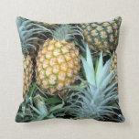 Coussin hawaïen tropical d'ananas