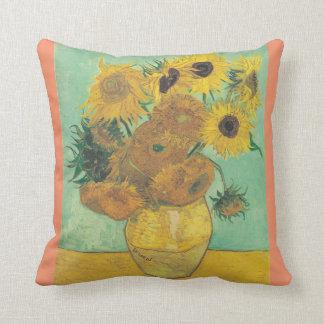 Coussin La vie toujours : Tournesols - Vincent van Gogh