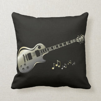 Coussin Pillow with a valu guitar