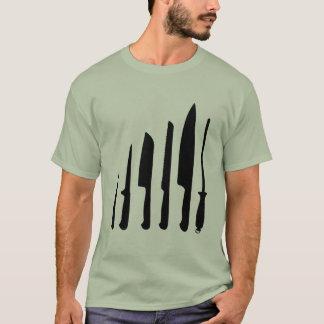 Couteaux de chefs t-shirt