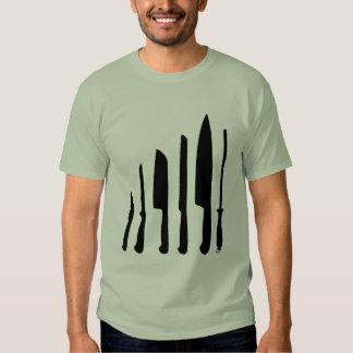 Couteaux de chefs tshirt