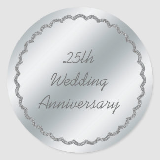 Coutume d autocollant d anniversaire de mariage d