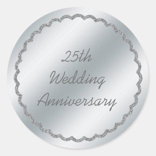 Coutume d'autocollant d'anniversaire de mariage