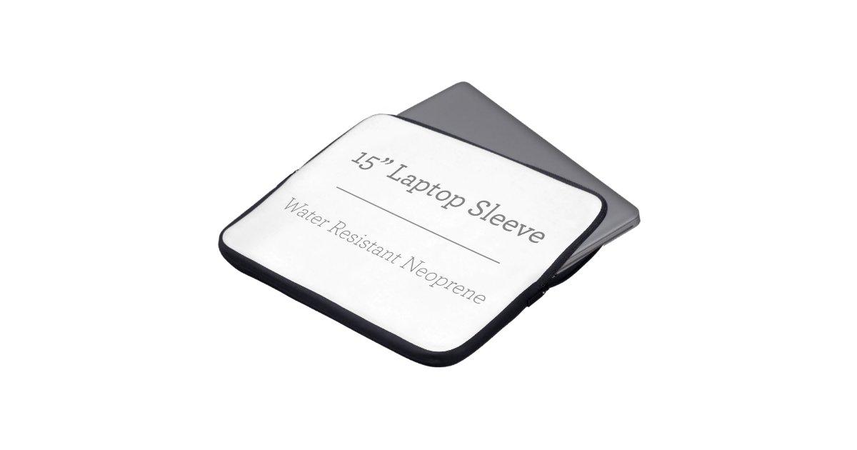 pochette en n opr ne ordinateur portable 15 pouces 38 1 cm zazzle. Black Bedroom Furniture Sets. Home Design Ideas