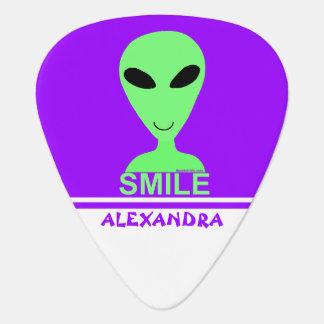 Coutume drôle de l'alien LGM de sourire d'humour Onglet De Guitare