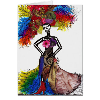 Couture Catrina Card