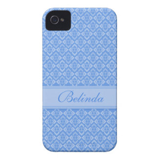Couture name blue iphone4S case