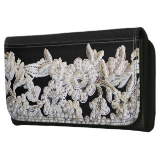 COUTURE PRINT- PEARLS WALLET FOR WOMEN