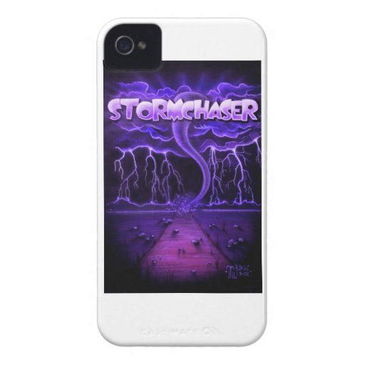 "Couverture audacieuse ""Stormchaser "" de Blackberry Coque Case-Mate iPhone 4"