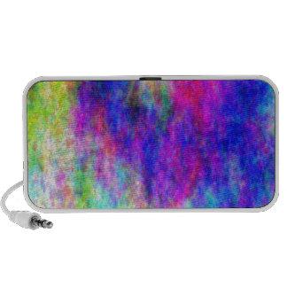 Couverture colorée de style bohème de téléphone de haut-parleurs iPod