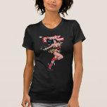 Couverture comique de femme de merveille tee-shirts