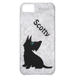 Couverture d iPhone de chien de Scotty Coques Pour iPhone 5C