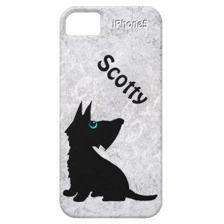 Couverture d iPhone de chien de Scotty Étuis iPhone 5
