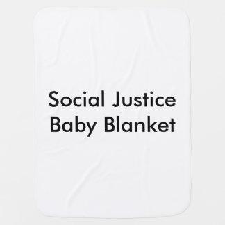 Couverture de bébé de justice sociale