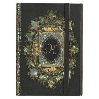 Couverture de livre fabriquée à la main nacrée
