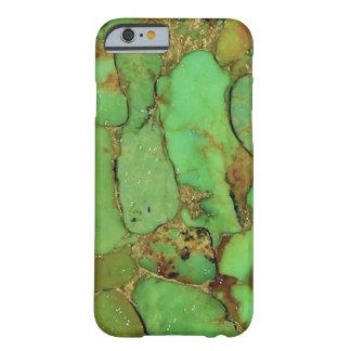 Couverture de téléphone de motif de turquoise coque iPhone 6 barely there