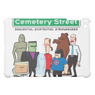 Couverture d'iPad d'équipe de rue de cimetière Étui iPad Mini
