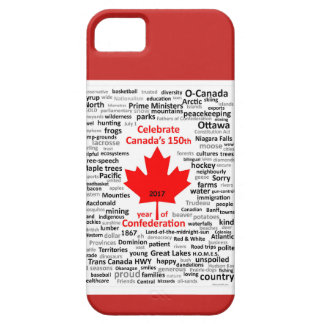 Couverture d'iphone du Canada 150 Étuis iPhone 5