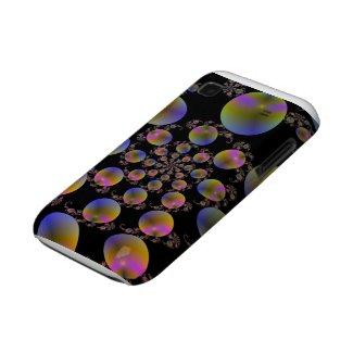 Couverture en spirale de la galaxie S de Samsung d casematecase