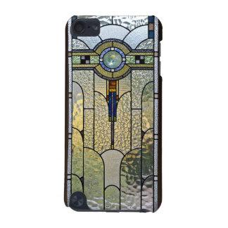 couverture en verre souillée d'art déco de contact coque iPod touch 5G