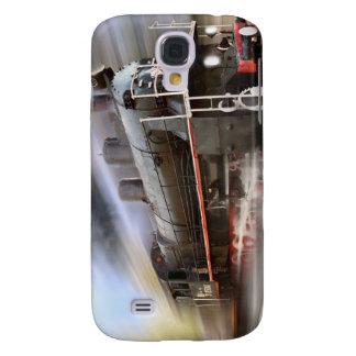Couverture expédiante de l'iPhone 4 de train Coque Galaxy S4