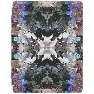 Couverture intelligente d'iPad animal blanc Protection iPad