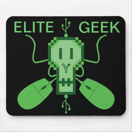Couverture pour souris Logo Élite Geek - M1b Tapis De Souris