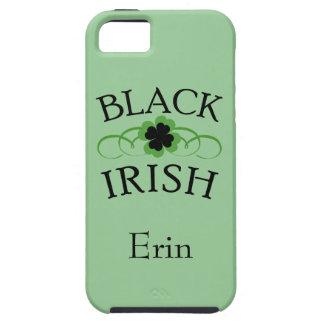 Couvertures noires de téléphone d Irlandais Coque iPhone 5 Case-Mate