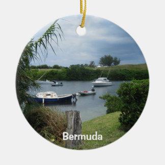 Cove #1, Bermuda Ceramic Ornament
