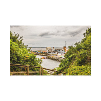 """""""Cove at Dunmore East, Ireland"""" canvas prints/wall"""