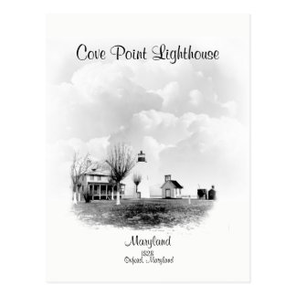 Cove Point Lighthouse-  Maryland Postcard
