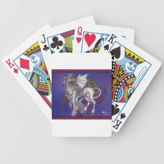 Coven Symbol Spiral Essence Unicorn Griffon Celtic Bicycle Playing Cards