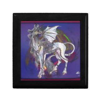 Coven Symbol Spiral Essence Unicorn Griffon Celtic Gift Box