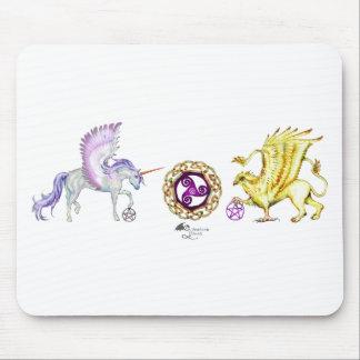 coven symbol spiral essence unicorn griffon mouse pad