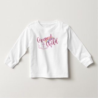 """""""Covenant Child"""" Toddler Long Sleeve Tee (Pink)"""