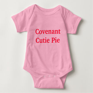 Covenant Cutie Pie Baby Bodysuit