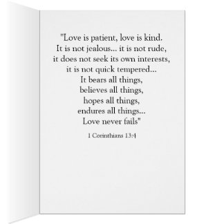 Covenant Love Note Card