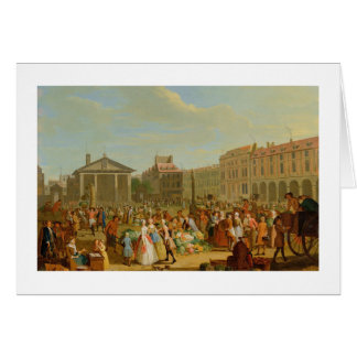 Covent Garden, c.1726 (oil on copper) Card
