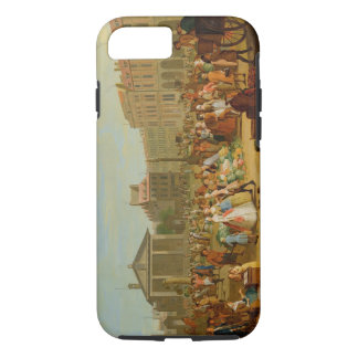 Covent Garden, c.1726 (oil on copper) iPhone 7 Case